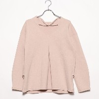 【SALE 83%OFF】セブンデイズ サンデイ  SEVENDAYS=SUNDAY outlet ポンチタック ドロップショルダ (ピンク)