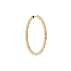 Maria Black 14kt yellow gold Alba 20mm hoop earring - ゴールド