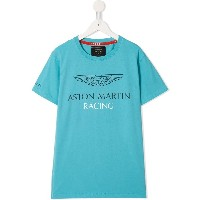 Hackett Kids Aston Martin Racing Tシャツ - ブルー