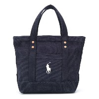 Ralph Lauren Kids Polo Pony トートバッグ - ブルー
