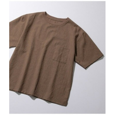 ADAM ET ROPE' HOMME 【EVALET】ストレッチT アダムエロペ カットソー【送料無料】