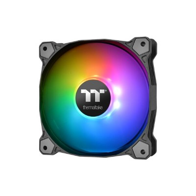 Thermaltake CL-F064-PL14SW-A Pure Plus 14 RGB Radiator Fan TT Premium Edition 3Pack カスタマイズに対応する鮮やかなR...
