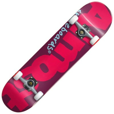 【Almost】オルモスト【Color Logo Red Complete DECK】7.375inch【SKATEBOARD】スケボー【スケート】コンプリート【完成品】子供【キッズ】KIDS...