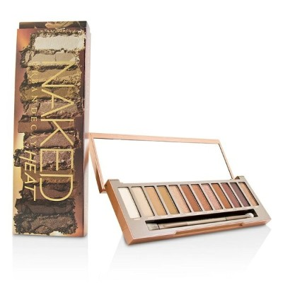 Urban Decay Naked Heat Palette: 12x Eyeshadow, 1x Doubled Ended Blending / Detailed Crease Brush...