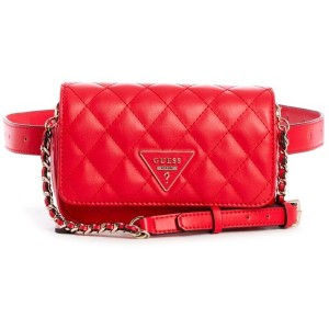 【SALE 5%OFF】ゲス GUESS CALIFORNIA DREAM CROSSBDY BELTBAG (RED) レディース