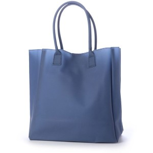 【SALE 50%OFF】ヒッチハイクマーケット HITCH HIKE MARKET smooth vinyl tote (ブルー) レディース