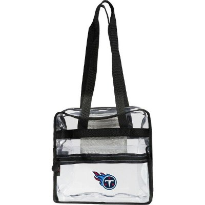NFL メンズ スーツケース バッグ Clear-Zone Stadium Tote Titans