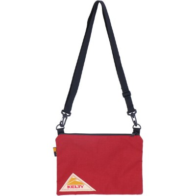 KELTY(ケルティ)アウトドアバッグVINTAGE FLAT POUCH S BLACK2592144NEW RED