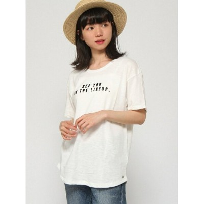 【SALE/30%OFF】ROXY (W)FOLLOW ME TO THE BEA ロキシー カットソー Tシャツ ホワイト