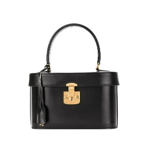 GUCCI PRE-OWNED Lady Lock コスメポーチ - ブラック