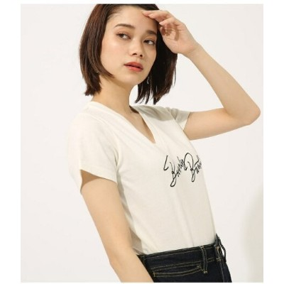 AZUL by moussy beverly barbie Vneck TEE アズールバイマウジー カットソー