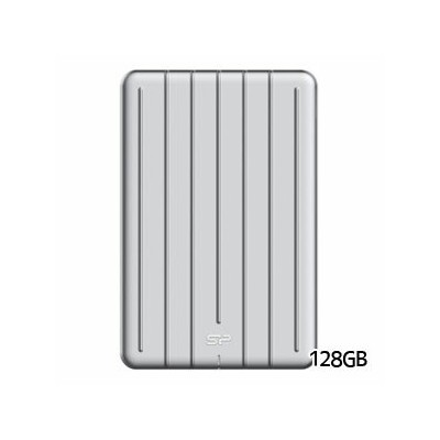 【シリコンパワー silicon power】Portable SSD Bolt B75 外付けSSD 128GB SP128GBPSDB75SCS