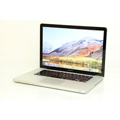 中古 Apple アップル Macbook Pro A1286 MD322J/A Core i7 2760QM 2.40GHz 8GB SSD256GB スーパードライブ 2011年...