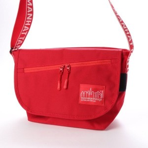 マンハッタンポーテージ Manhattan Portage IDENT? Casual Messenger Bag JR (Red) レディース