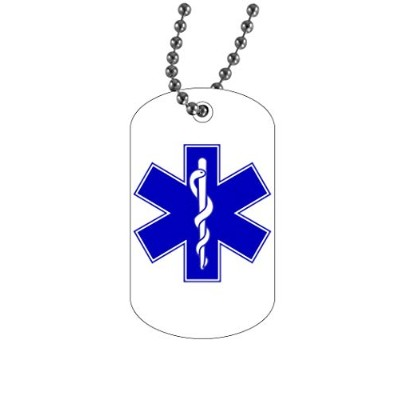 Rogue River Tactical EMT EMS 救命士 救命士 ドッグタグペンダント ジュエリーネックレス ギフト 救命士