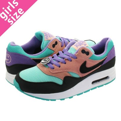 NIKE AIR MAX 1 NK DAY GS 【HAVE A NIKE DAY】 ナイキ エア マックス 1 NK DAY GS BLACK/WHITE/SPACE PURPLE at8131...