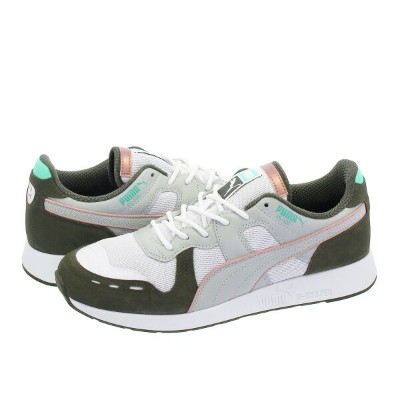 PUMA RS100 X EMORY JONES プーマ RS100 × エモリー ジョーンズ PUMA WHITE/FOREST NIGHT 368054-01