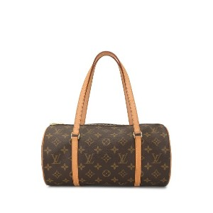 LOUIS VUITTON PRE-OWNED パピヨン 30 ハンドバッグ - ブラウン