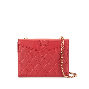 Chanel Pre-Owned ココマーク ショルダーバッグ - レッド