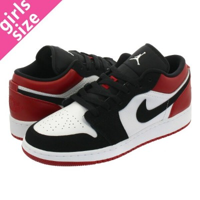 low priced 91dba 77cd8 NIKE AIR JORDAN 1 LOW GS ナイキ エア ジョーダン 1 ロー GS WHITE BLACK