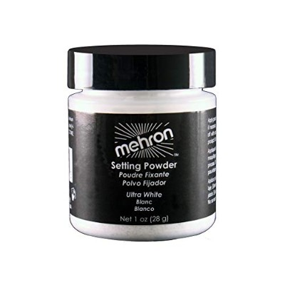 mehron UltraFine Setting Powder with Anti Perspriant Ultra White (並行輸入品)