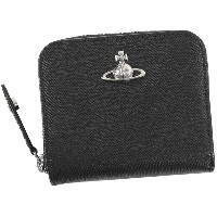【SALE 40%OFF】ヴィヴィアンウエストウッド Vivienne Westwood PIMLICO MEDIUM ZIP WALLET (BLACK) レディース
