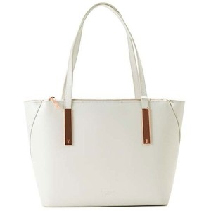 【SALE 20%OFF】テッドベーカー TED BAKER MINI GRAIN  SMALL SHOPPER (LIGHT GREY) レディース