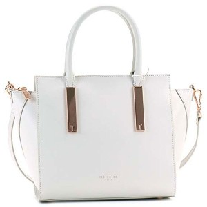 【SALE 20%OFF】テッドベーカー TED BAKER MINI GRAIN TOTE (LIGHT GREY) レディース
