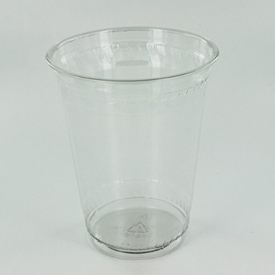 fabri-kal Greenware Plain Cold Cupクリア、16オンス  1000 /ケース