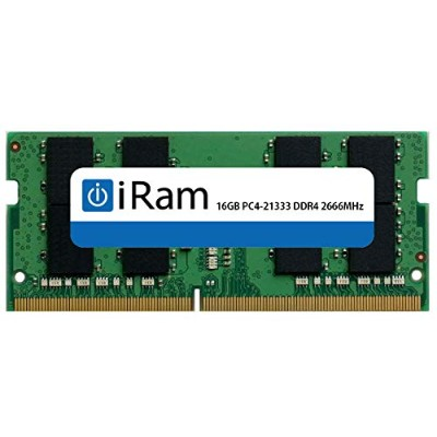 iRam Technology IR16GSO2666D4 iMac(Early2019 27インチ) 増設メモリ 16GB DDR4/2666 260pin SO-DIMM