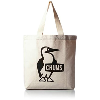 [チャムス] CHUMS Booby Canvas Tote Black
