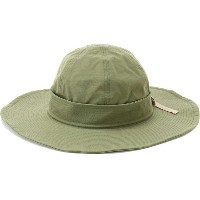 【SALE 30%OFF】バックレースアップつば広ハット OLIVE1