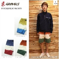 【GRAMICCI/グラミチ】PSYCHEDELIC SHORTS 3color サイケデリックショーツ