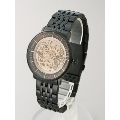 FOSSIL FOSSIL/(M)CHASE AUTOMATIC_ME3163 フォッシル ファッショングッズ 腕時計 ブラック【送料無料】