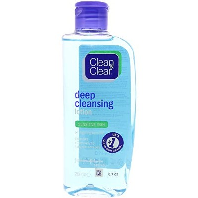Clean And Clear Women's Deep Cleansing Solution Face Cleanser - 6.7 oz