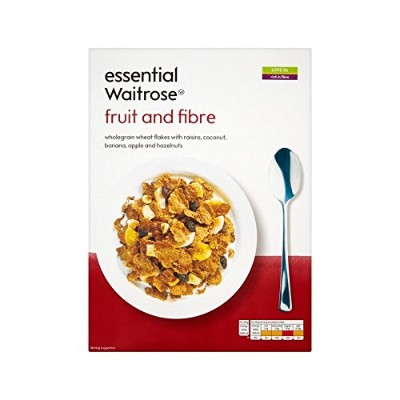 フルーツ&繊維不可欠500グラム (Waitrose) (x 2) - Fruit & Fibre essential Waitrose 500g (Pack of 2)