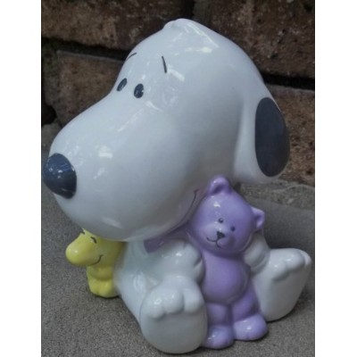 Hallmark Baby Snoopy Ceramic Bank - Studio B by Studio B