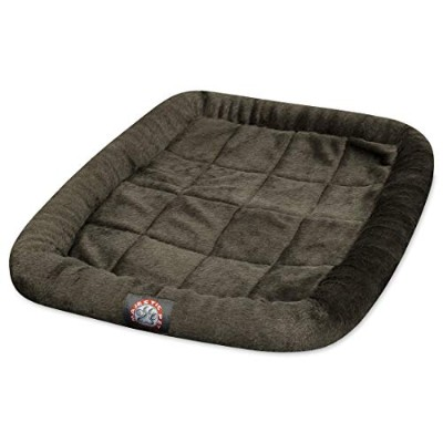 30 inch Charcoal Crate Pet Bed Mat By Majestic Pet Products by Majestic Pet