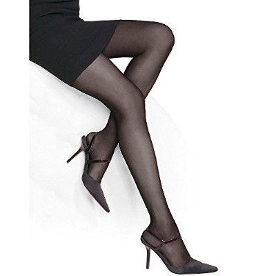 Jet Black Leggs Brown Sugar Ultra Ultra Sheer Pantyhose - Size M