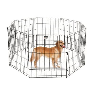Pet Trex 30 Playpen for Dogs Eight 24 Wide x 30 High Panels by Pet Trex