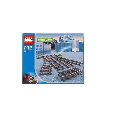 レゴ シティ Lego World City Switching Tracks for 9V Trains #4531レゴ シティ