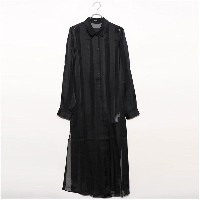 ゲス GUESS VERA LONG SHIRT (JET BLACK)