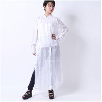 ゲス GUESS VERA LONG SHIRT (TRUE WHITE)