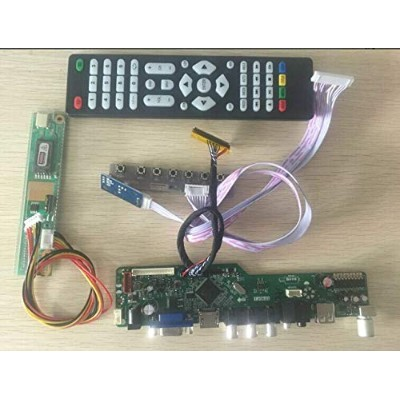 FidgetGear Kit for LTN160AT02 TV+HDMI+VGA+USB LCD screen Controller Driver Board