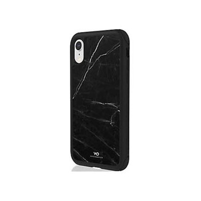 WHITE DIAMONDS iPhone XR用 Tough Marble Case(ブラック) 1380TMC6