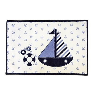 Bacati - Little Sailor Rug 24 X 36 Inches by Bacati