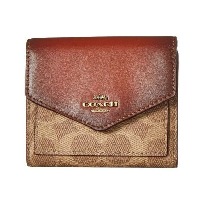 1cc4851c269d コーチ COACH レディース 財布【Small Wallet in Color Block Coated Canvas Signature】B4/