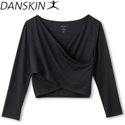ダンスキン JENNA DEWAN COLLECTION CROSS OVER TOP レディース DAJN5900-K