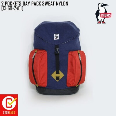 CHUMS チャムス リュック POCKETS DAY PACK SWEAT NYLON バッグ CH60-2401
