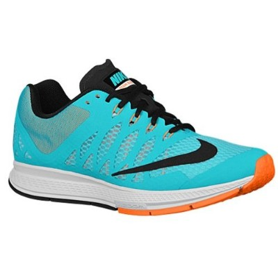 Nike Air Zoom Elite 7 [654443-408] Men Running Shoes Light Aqua/Black-Orange